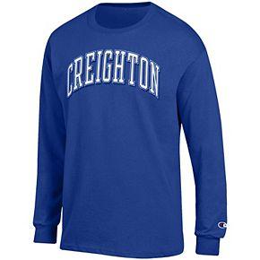 Men's Champion Blue Creighton Bluejays Arch Over Logo Long Sleeve T-Shirt