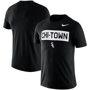Men's Nike Black Chicago White Sox MLB Chi-Town Local Phrase T-Shirt