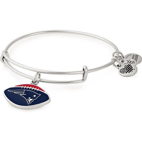 Women's Alex & Ani New England Patriots Stack Bracelet