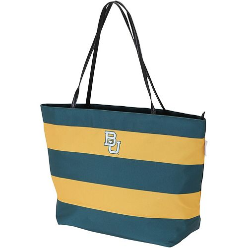 Baylor Bears Game Day Rugby Striped Tote Bag