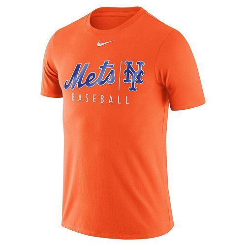 Men's Nike Orange New York Mets MLB Practice T-Shirt