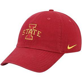 Men's Nike Cardinal Iowa State Cyclones Heritage 86 Logo Performance Adjustable Hat
