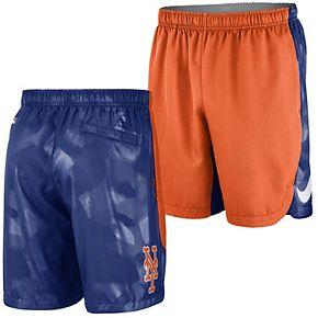Men's Nike Orange New York Mets Authentic Collection Team Logo Performance Shorts