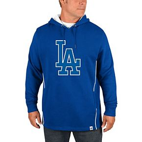 Men's Majestic Royal Los Angeles Dodgers Lefty/Righty Pullover Hoodie