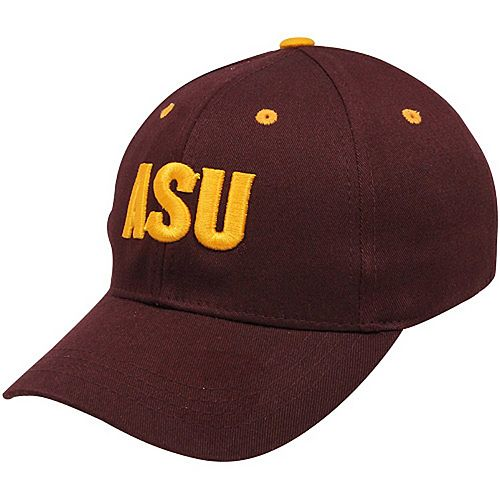Top of the World Arizona State Sun Devils Youth One-Fit Hat - Maroon