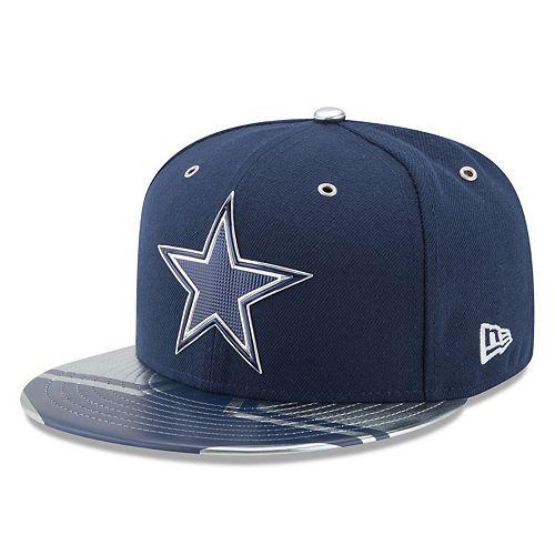 Men's New Era Navy Dallas Cowboys Spotlight 59FIFTY Fitted Hat
