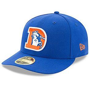 Men's New Era Royal Denver Broncos Omaha Low Profile 59FIFTY Structured Hat