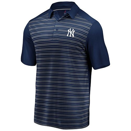 Men's Majestic Navy New York Yankees And Then Some Polo