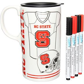 NC State Wolfpack Just Add Color Tall Boy Mug