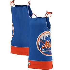 Women's Refried Tees Royal New York Mets Tee-Tank Dress