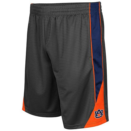 Men's Colosseum Charcoal Auburn Tigers Turnover Shorts