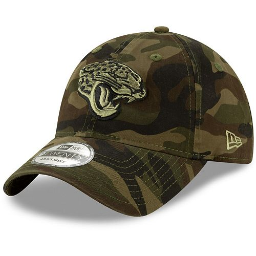 Jacksonville Jaguars New Era Youth Core Classic Tonal 9TWENTY Adjustable Hat - Camo