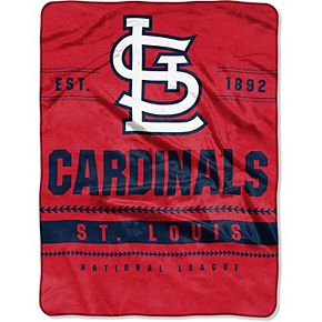 """The Northwest Company St. Louis Cardinals 60"""" x 80"""" Backstop Silk Touch Throw Blanket"""
