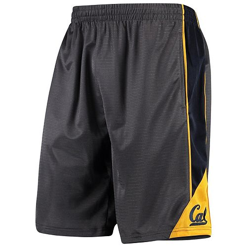 Men's Colosseum Charcoal Cal Bears Turnover Shorts