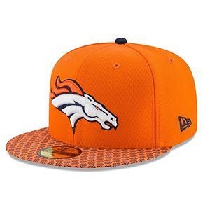 Denver Broncos New Era Youth 2017 Sideline Official 59FIFTY Fitted Hat - Orange