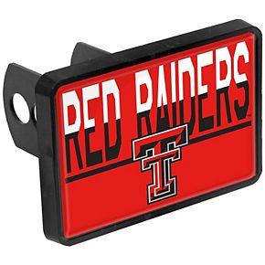 Texas Tech Red Raiders Duo-Tone Rectangular Plastic Hitch Cover