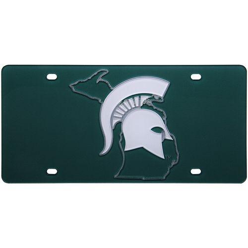 Michigan State Spartans State Pride License Plate