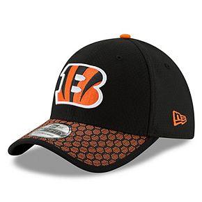 Cincinnati Bengals New Era Youth 2017 Sideline Official 39THIRTY Flex Hat - Black
