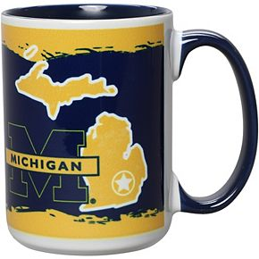 Michigan Wolverines 15oz. It's Your State Of Mind Mug
