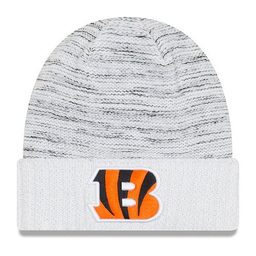 Youth New Era White Cincinnati Bengals 2017 Color Rush Official Knit Hat