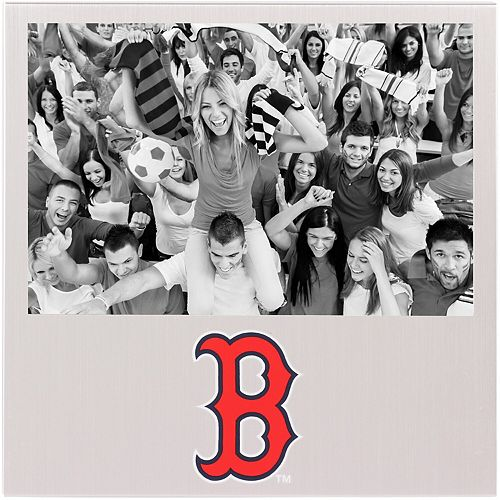 "Boston Red Sox 4"" x 6"" Aluminum Picture Frame"