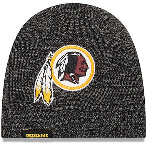Women's New Era Black Washington Redskins Glitter Chic Knit Hat