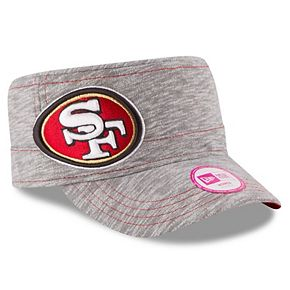 Women's New Era Gray San Francisco 49ers Team Mist Military Adjustable Hat