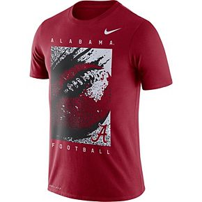 Men's Nike Crimson Alabama Crimson Tide Football Performance T-Shirt