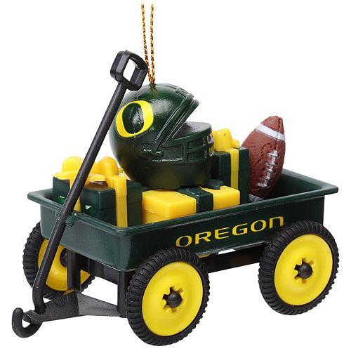 Oregon Ducks Team Wagon Ornament