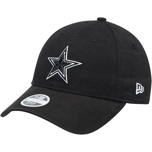 Women's New Era Black Dallas Cowboys Preferred Pick 9TWENTY Adjustable Hat