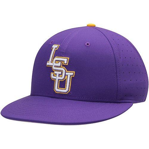 Men's Nike Purple LSU Tigers Aerobill Performance True Fitted Hat