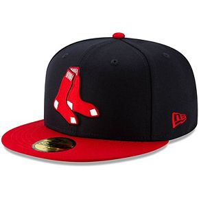 Men's New Era Navy Boston Red Sox Alternate Logo 59FIFTY Fitted Hat