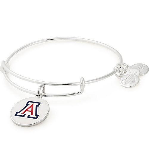 Women's Alex & Ani Arizona Wildcats Enamel Stack Bracelet