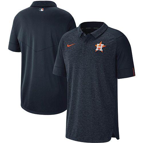 Men's Nike Navy Houston Astros Authentic Collection Team Logo Elite Polo