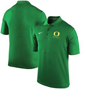 Men's Nike Kelly Green Oregon Ducks Varsity Performance Football Polo