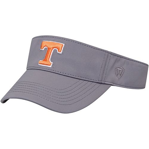 Men's Top of the World Gray Tennessee Volunteers Choice Visor