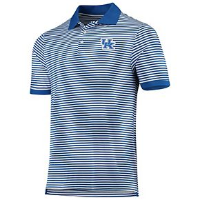 Men's Royal Kentucky Wildcats Yarn Dye Striped Team Polo
