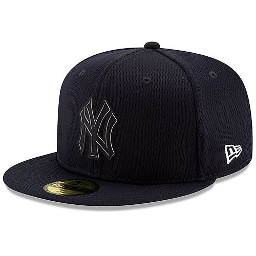 Men's New Era Navy New York Yankees 2019 Clubhouse Collection 59FIFTY Fitted Hat