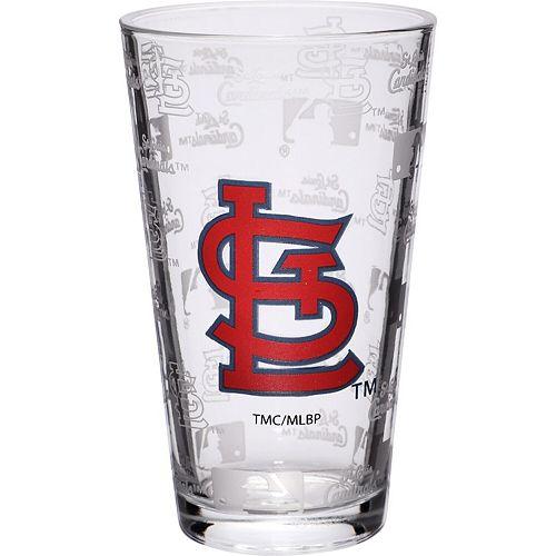St. Louis Cardinals 16oz. Sandblasted Mixing Glass
