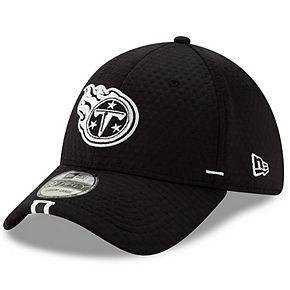Men's New Era Black Tennessee Titans 2019 NFL Training Camp 39THIRTY Flex Hat