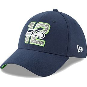 Seattle Seahawks New Era 2019 NFL Draft On-Stage Official 39THIRTY Flex Hat  Navy