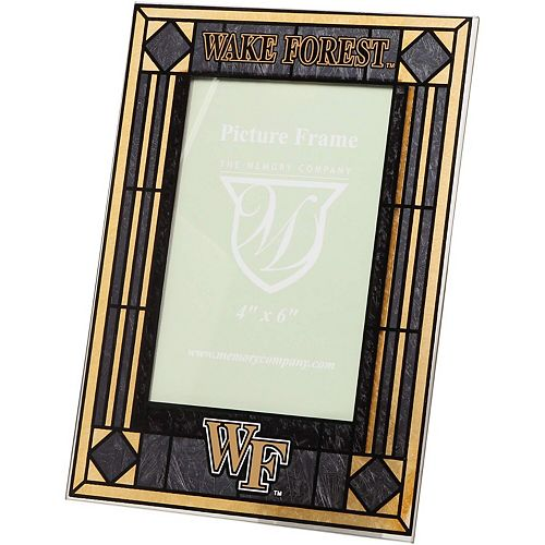 Wake Forest Demon Deacons Art-Glass Picture Frame