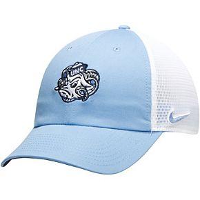 Men's Nike Carolina Blue North Carolina Tar Heels Heritage 86 Team Trucker Meshback Adjustable Hat