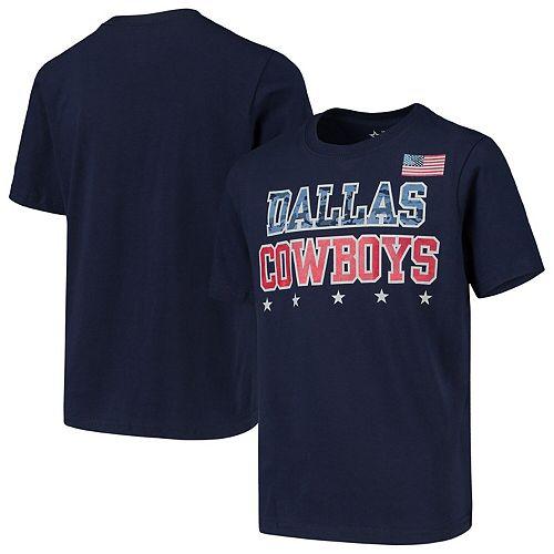 Youth Navy Dallas Cowboys Perlman T-Shirt