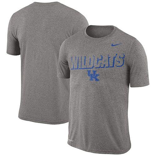 Men's Nike Heathered Gray Kentucky Wildcats Legend Lift Performance T-Shirt