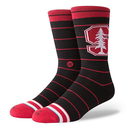 Men's Stance Stanford Cardinal Local Verbiage Socks