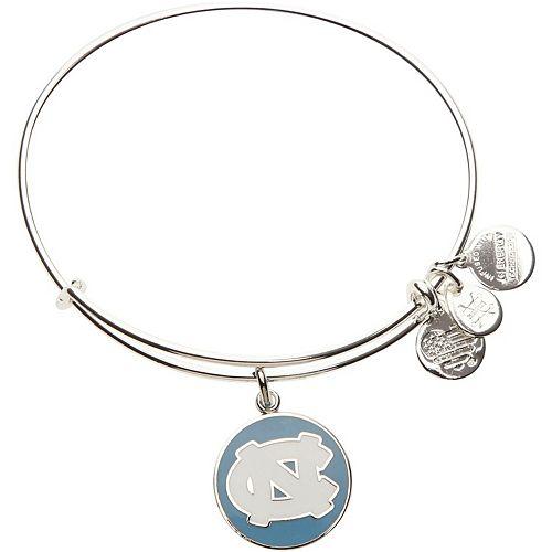 Women's Alex & Ani North Carolina Tar Heels Enamel Stack Bracelet