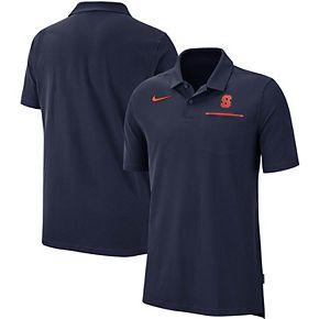 Men's Nike Navy Syracuse Orange 2019 Elite Coaches Sideline Polo