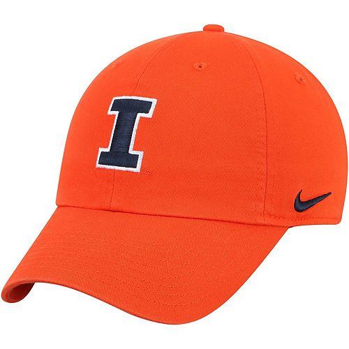 Men's Nike Orange Illinois Fighting Illini Heritage 86 Adjustable Hat