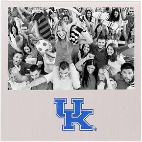 """Kentucky Wildcats 4"""" x 6"""" Aluminum Picture Frame"""